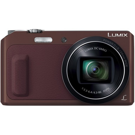 Panasonic Lumix DMC-TZ57, коричневый