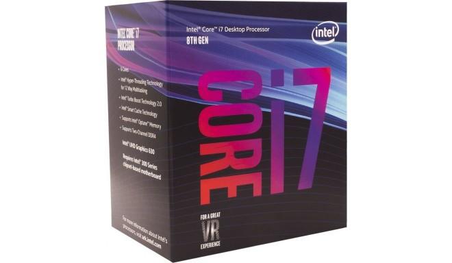 Intel protsessor Core i7-8700 Hexa Core 3.20GHz