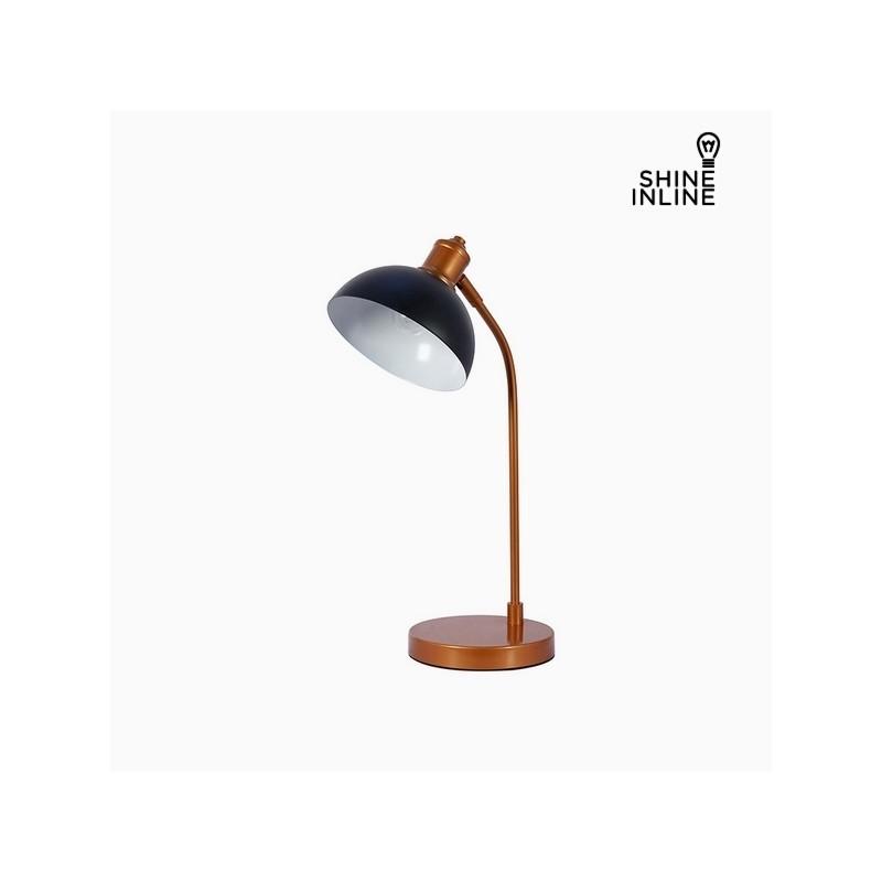 Desk Lamp Black Chrome Aluminium 27 X 18 51 Cm By Shine Inline