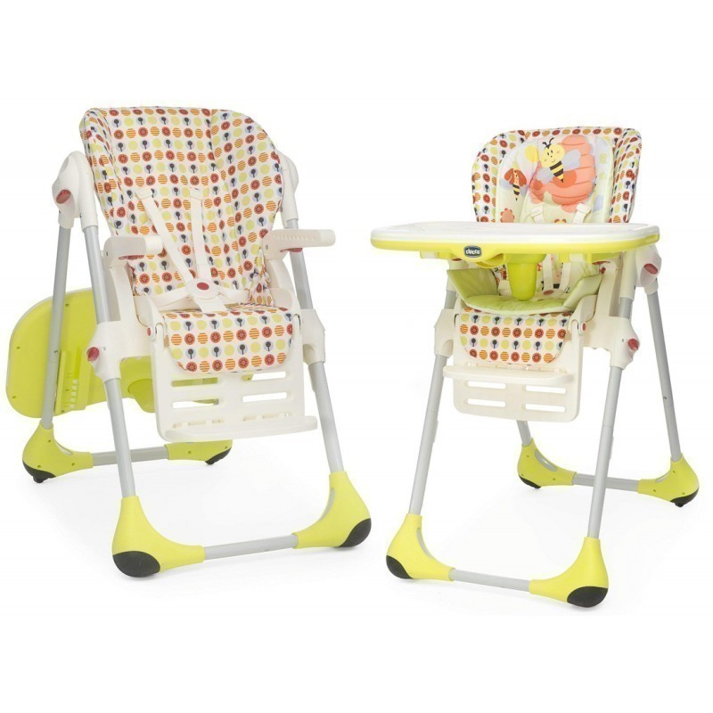 Chicco Highchair Polly Double Phase 2 In 1 Sunny Feeding Chairs