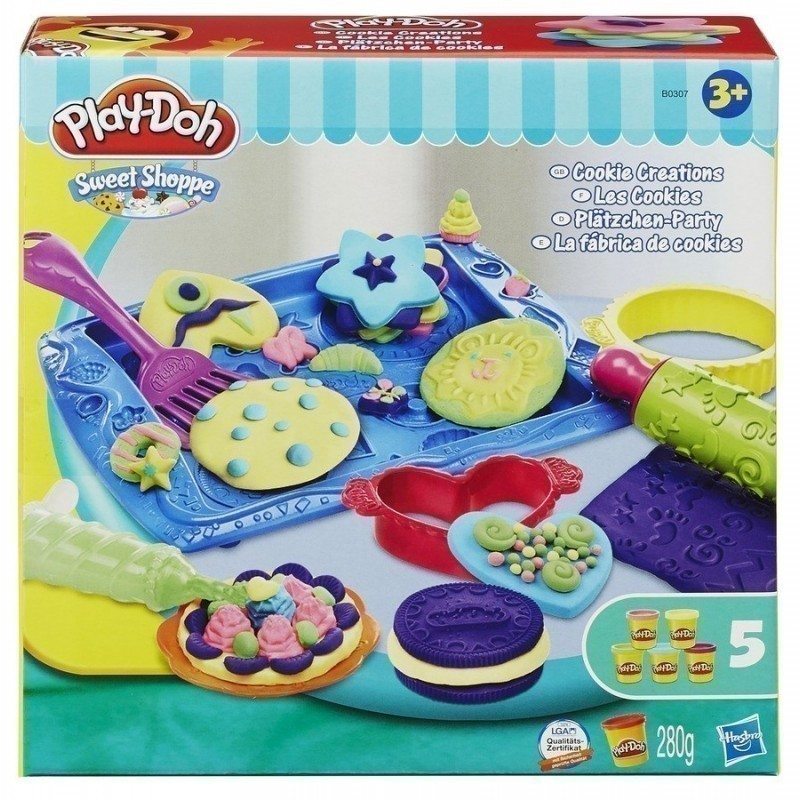 Play Doh Kitchen Set Biscuit Creation B0307eu8 Modeling Photopoint