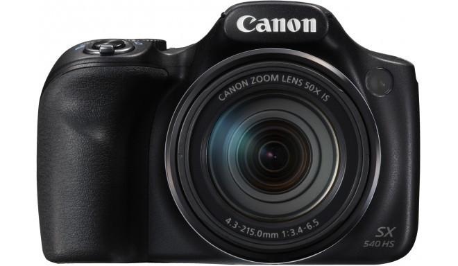 Canon PowerShot SX540 HS, melns