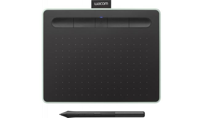 Wacom графический планшет Intuos S Bluetooth, зеленый