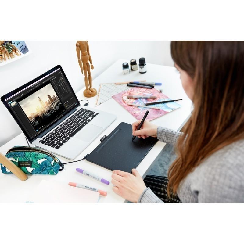 Wacom graafikalaud Intuos Comfort Plus Pen Bluetooth M, must