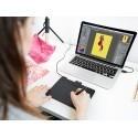 Wacom graafikalaud Intuos Comfort Pen Bluetooth S, must