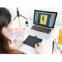Wacom graafikalaud Intuos Comfort Pen Bluetooth S, pistaatsiaroheline