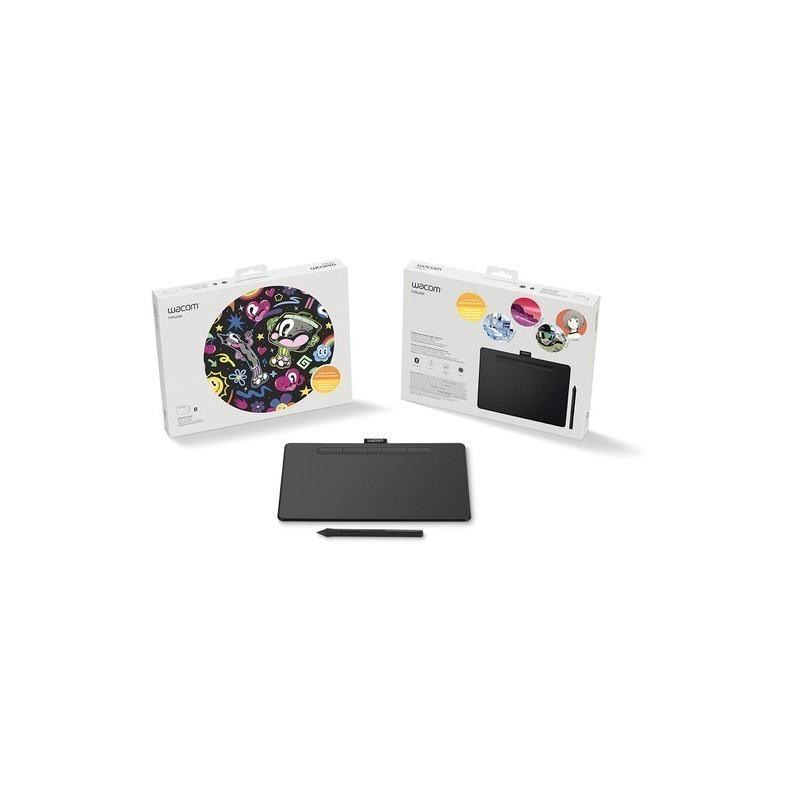 Wacom graafikalaud Intuos Comfort Plus Pen Bluetooth M, must