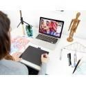 Wacom графический планшет Intuos Comfort Plus Pen Bluetooth M, зеленый