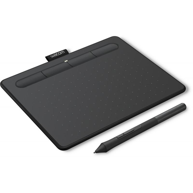 Wacom graphics tablet Intuos Basic Pen S, черный