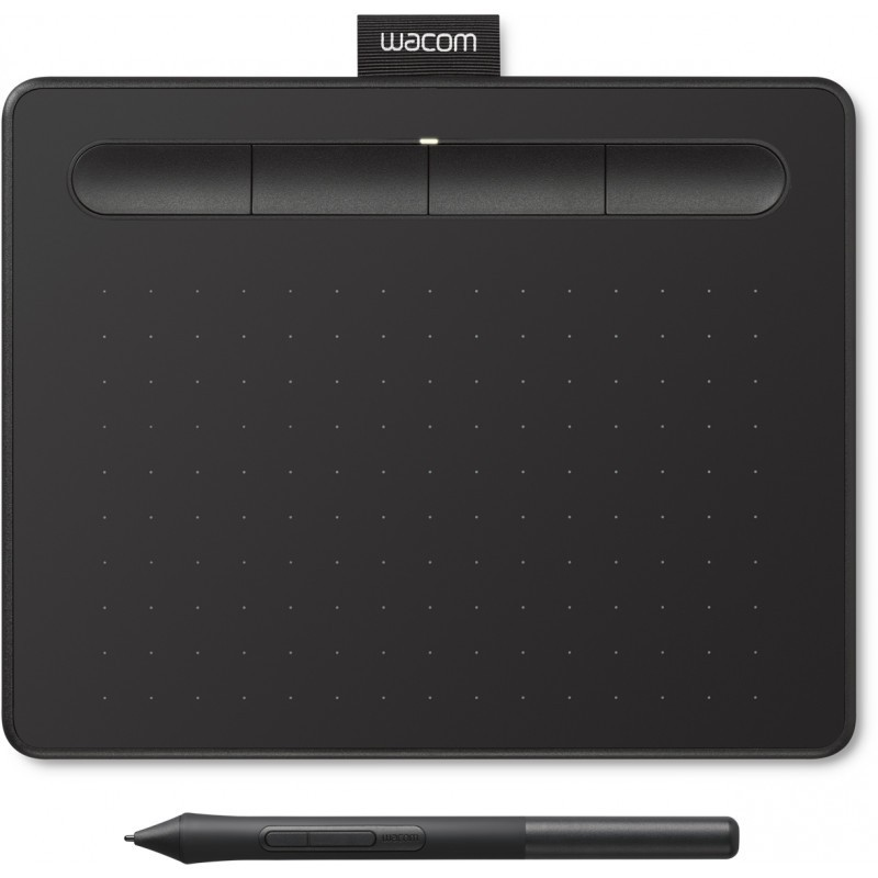 Wacom graphics tablet Intuos S, черный