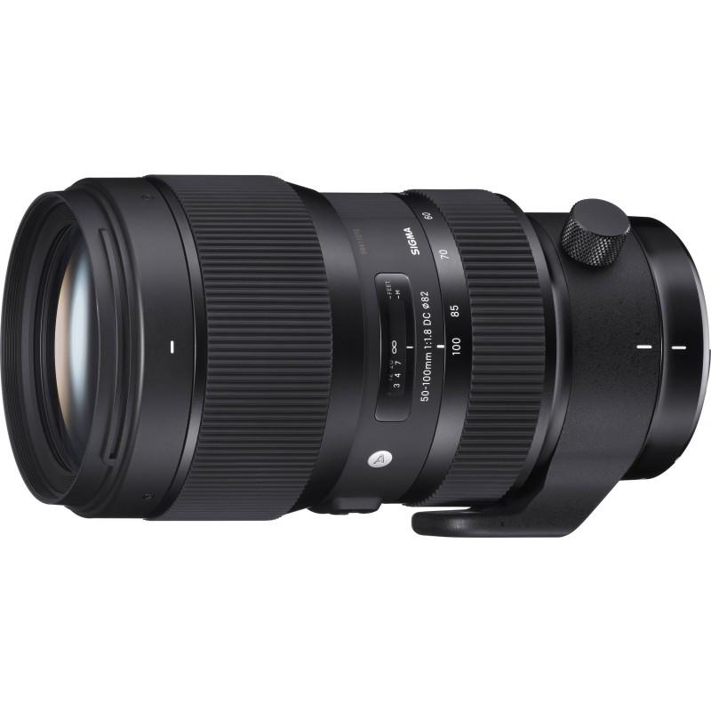 Sigma 50-100mm f/1.8 DC HSM Art objektiiv Canonile