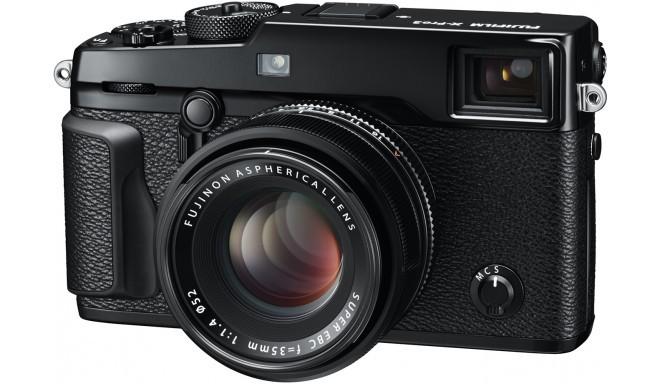 Fujifilm X-Pro2 + 35мм f/1.4, черный