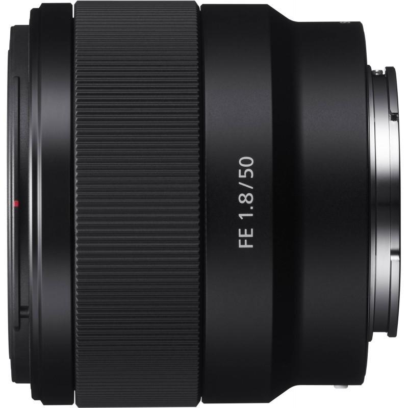 Sony FE 50mm f/1.8 objektiiv
