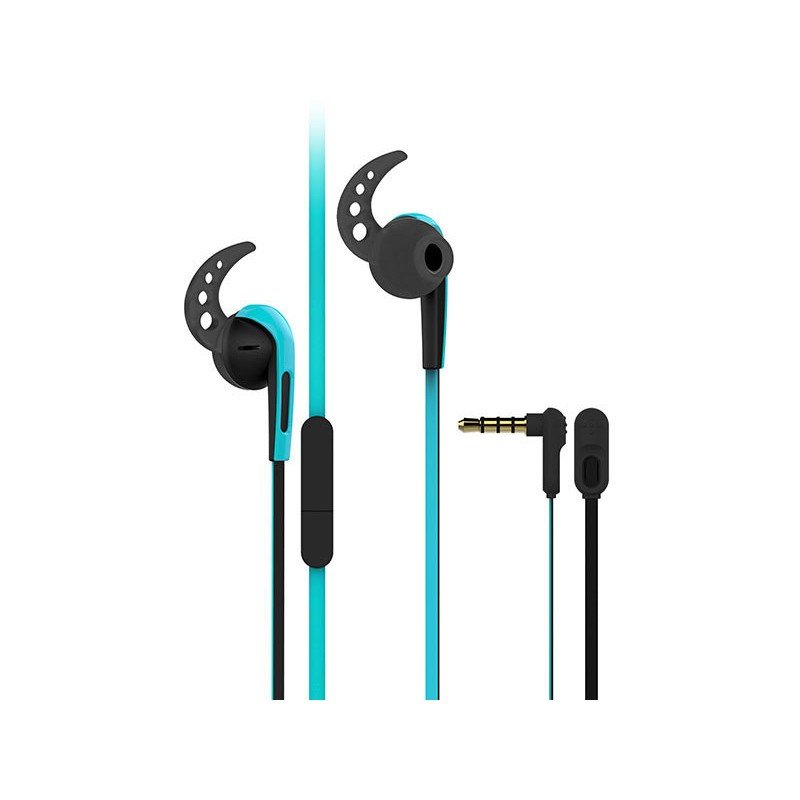 Vivanco kõrvaklapid + mikrofon SPX40, sinine (37302)