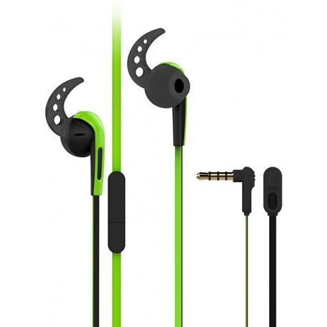 Vivanco kõrvaklapid + mikrofon SPX40, roheline (37303)