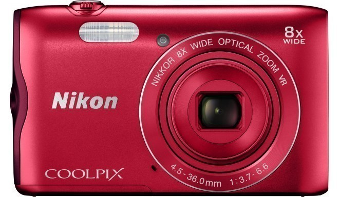Nikon Coolpix A300, красный