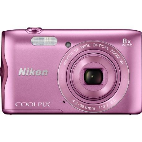 Nikon Coolpix A300, розовый