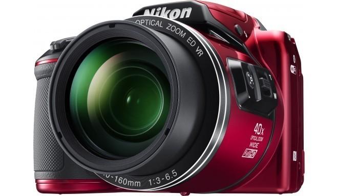 Nikon Coolpix B500, красный