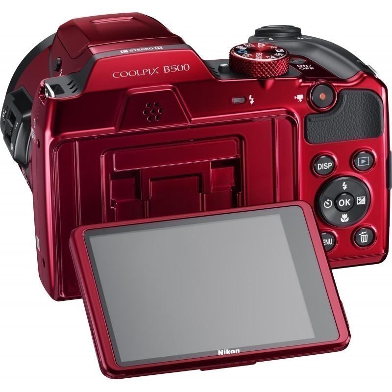 Nikon Coolpix B500, punane