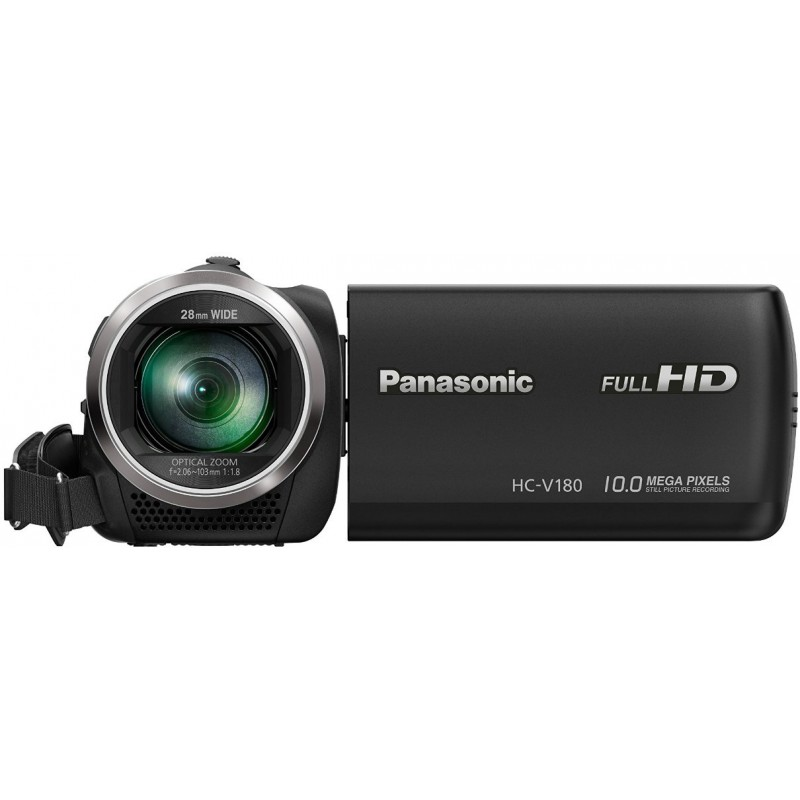 panasonic hc v180 black camcorders photopoint. Black Bedroom Furniture Sets. Home Design Ideas