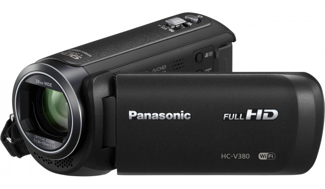 Panasonic HC-V380, black