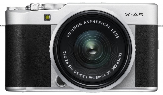 Fujifilm X-A5 + 15-45 мм Kit, серебряный