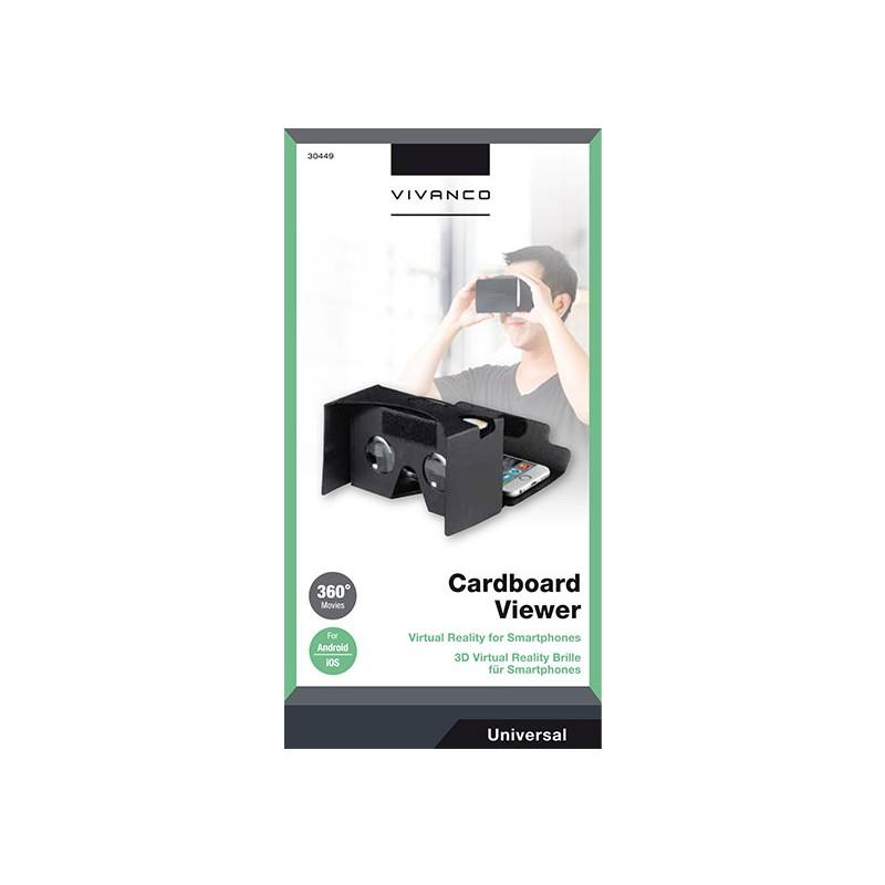 Vivanco virtuaalreaalsuse prillid Carboard Viewer (30449)