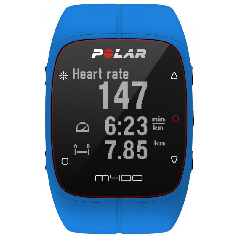 Polar M400 HR, sinine