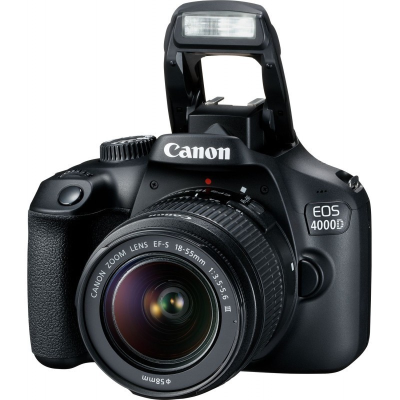 Canon EOS 4000D + 18-55mm III Kit, must