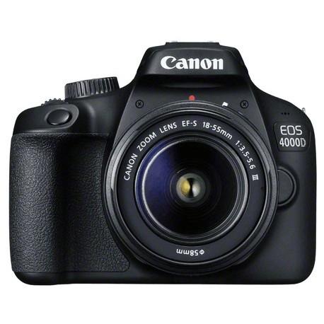 a4cec184651 Canon EOS 4000D + 18-55mm III Kit, black - DSLRs - Photopoint