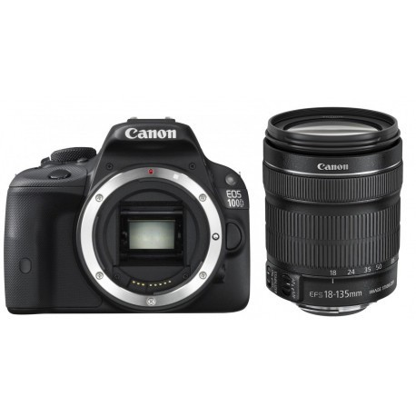 Canon EOS 2000D + 18-135mm IS Kit, black