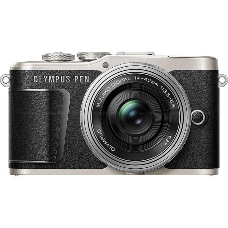 Olympus PEN E-PL9 + 14-42mm EZ Kit, black/silver