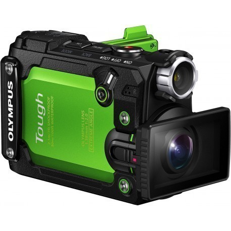Olympus Tough TG-Tracker, зеленый