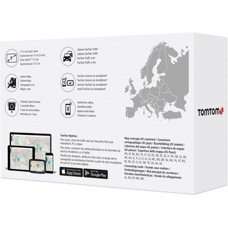 tomtom via 52 europe gps photopoint. Black Bedroom Furniture Sets. Home Design Ideas