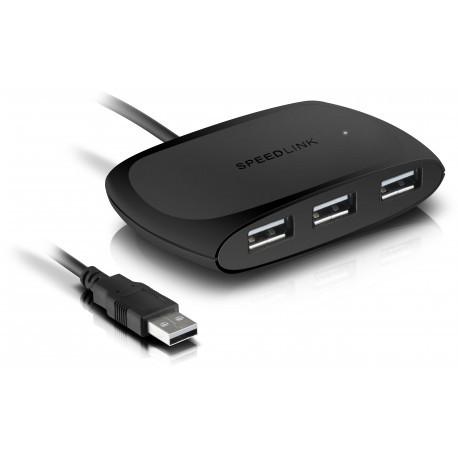 Speedlink USB hub Snappy Passive 4 порта USB 2.0 (SL-140011)