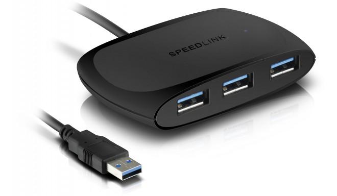 Speedlink USB hub Snappy Passive 4-port USB 3.0 (SL-140104)