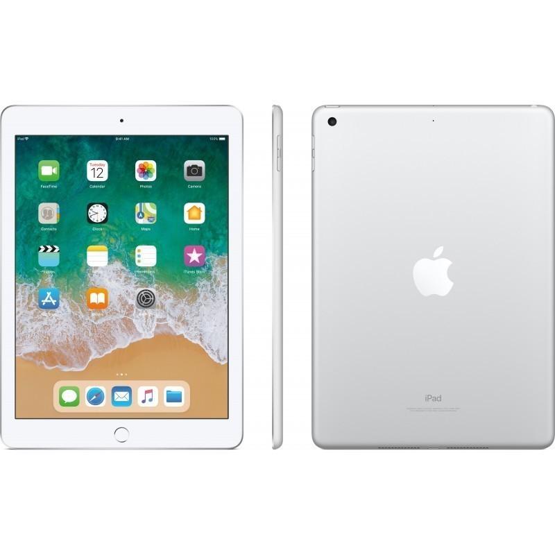 Apple iPad 128GB WiFi, серебряный (2018)