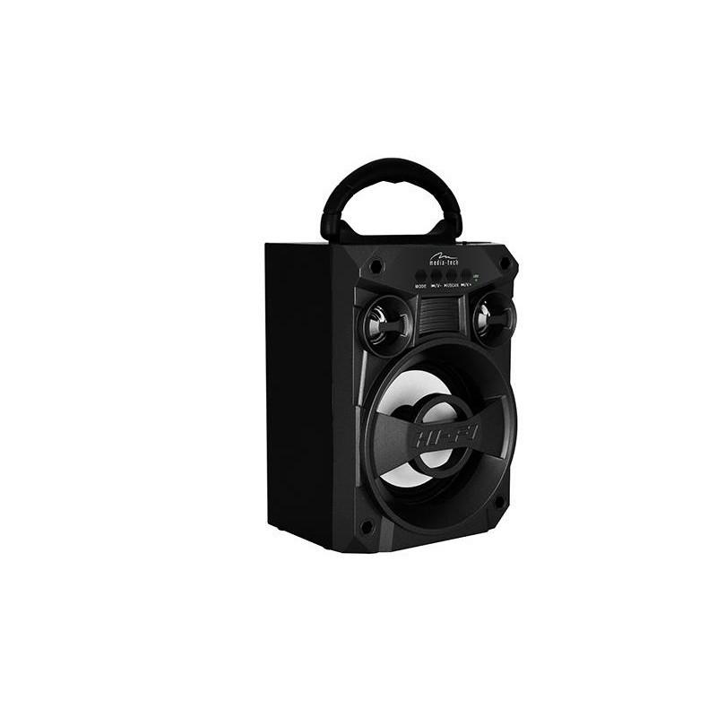 BOOMBOX LT - Compact bluetooth soundbox, 6W RMS, FM, USB, MP3, AUX, MICROSD