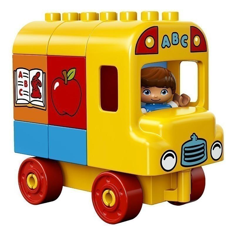 Lego Duplo toy blocks My First Bus 17pcs - Lego DUPLO - Photopoint