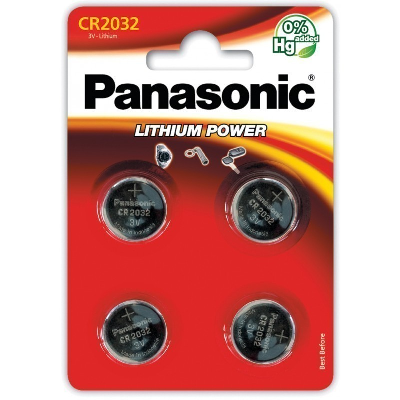 Panasonic patarei CR2032/4B