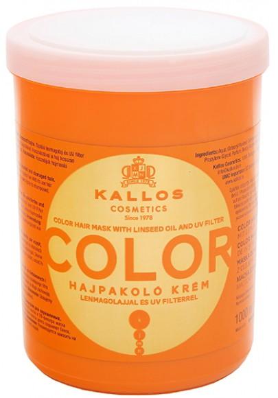 Kallos juuksemask Color 1000ml