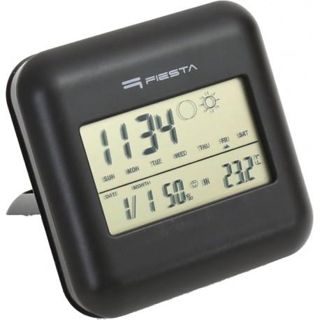Fiesta цифровая метеостанция FSTT03, черный (42292)