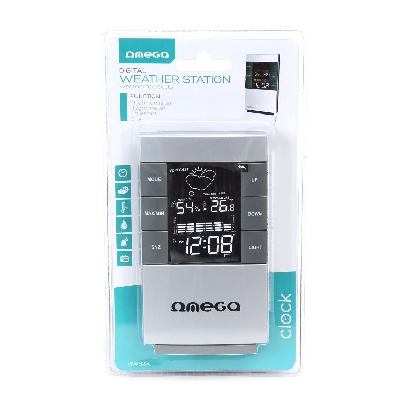 Omega digital weather station OWS-26C (41358)