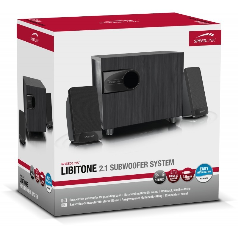Speedlink speakers Libitone 2.1 (SL-820007)