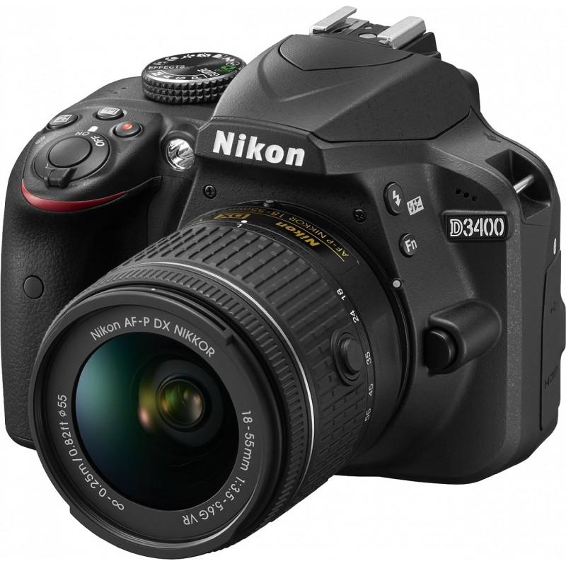 Nikon D3400 + 18-55 AF-P VR Kit, must