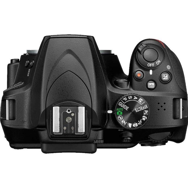 Nikon D3400 + Tamron 18-200mm VC, must