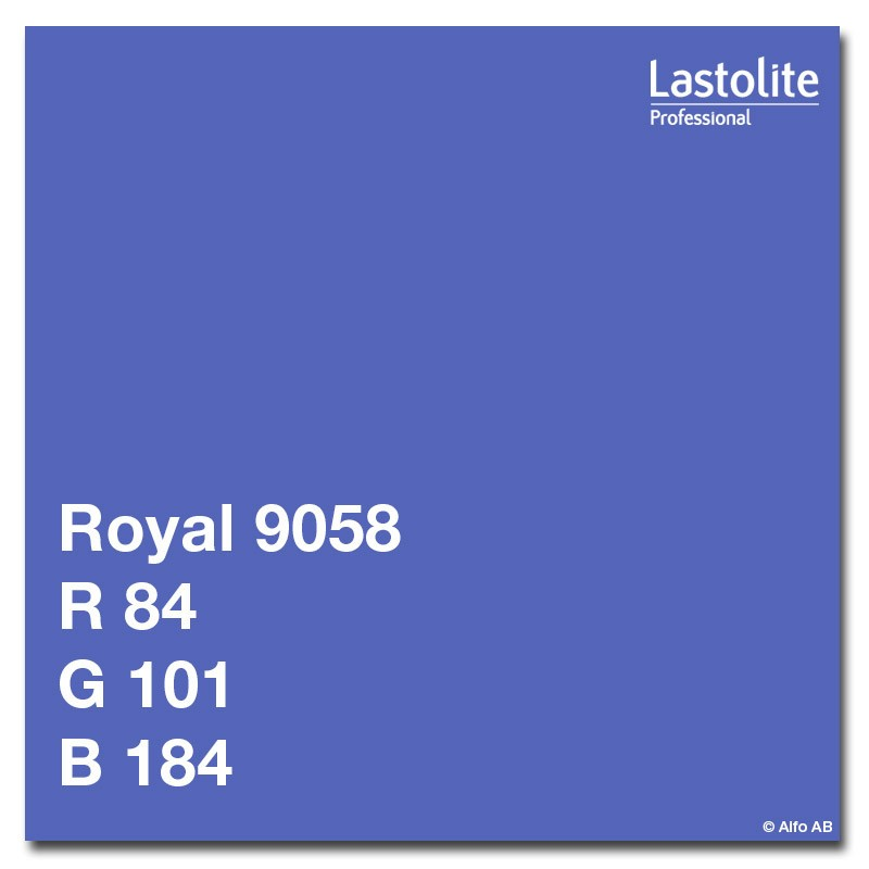 Lastolite paberfoon 2,75x11m, royal (9058)