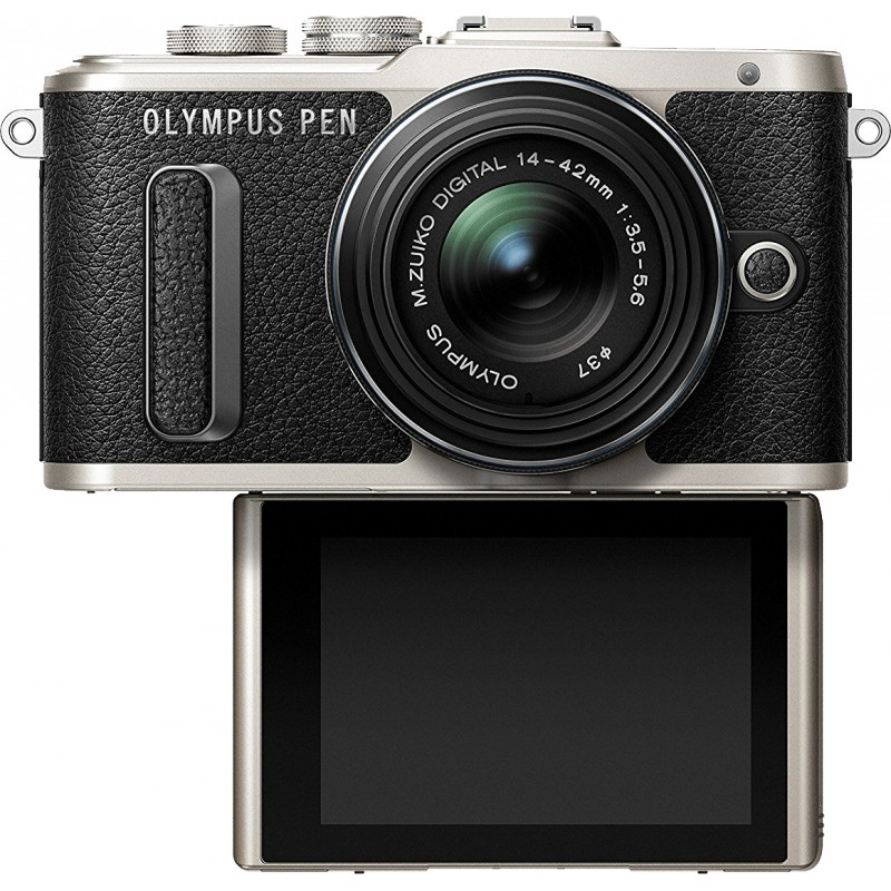 Olympus PEN E-PL8 + 14-42mm EZ Kit, must