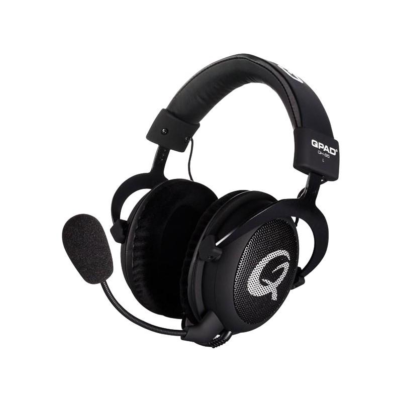 QPad kõrvaklapid + mikrofon QH-85, must