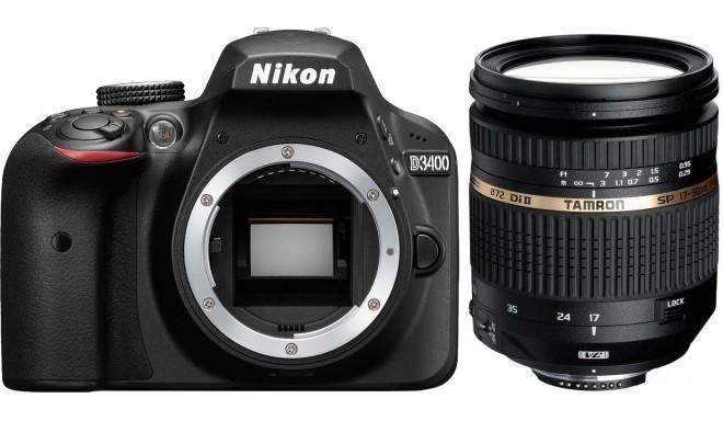 Nikon D3400 + Tamron 17-50мм VC